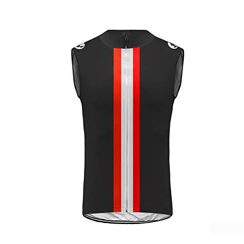 Uglyfrog® Rennrad Sportbekleidung Radtrikots Ärmellos Fahrradbekleidung Fahrrad Top Männer MTB Jersey Atmungsaktive Sommer Schwarz Cycling Vest DEHerren20