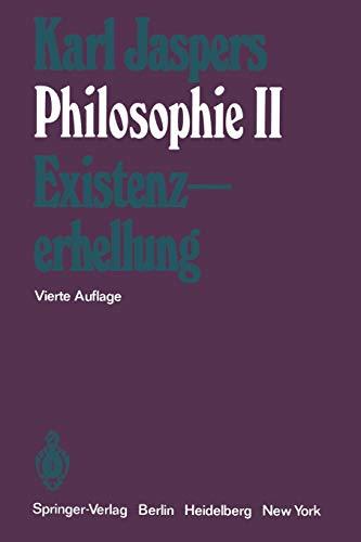 Philosophie II: Existenzerhellung