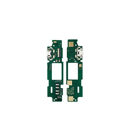 HenShiXin Sensible For HTC Desire 530 Micro USB Cargador de Carga de la Base del Conector de Puerto Junta micrófono sólido