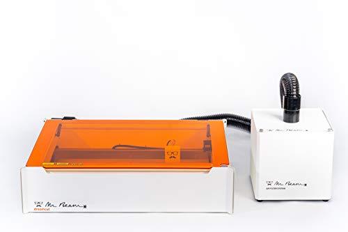 MR BEAM II DREAMCUT & Air Filter - Laser Cutter & Laser Graviermaschine + Kohlektivfilter mit CE Zertifizierung MADE IN GERMANY/Lasercutter mit starkem 5W Kurzwellenlaser zum Gravieren & Schneiden