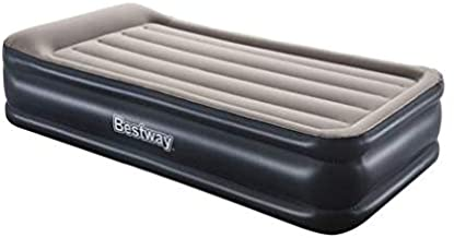 """Bestway TriTech Twin Airbed 18"""" Inflatable Blow Up Air Mattress with Built-in AC Pump Elevated Comfort"""
