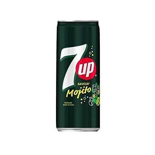 7UP Mojito (24 x 0,33L Dose) EINWEG inkl. gratis FiveStar Kugelschreiber