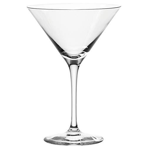 Leonardo Tivoli Cocktail-Schalen, Cocktail-Glas mit Stiel, spülmaschinenfeste Cocktail-Kelche, 6er Set, 260 ml, 066397