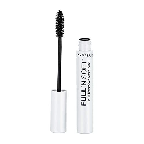 Maybelline Full 'N Soft Waterproof Mascara, Very Black [311], 0.28 oz by Maybelline