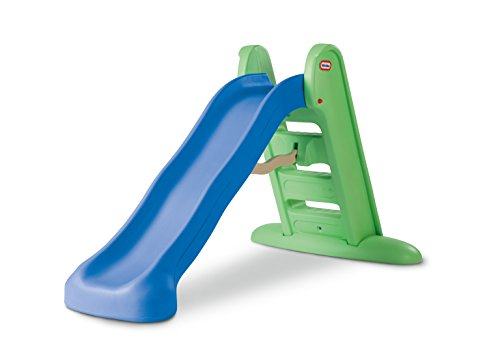 Little Tikes Easy Store Large Slide , Blue/Green