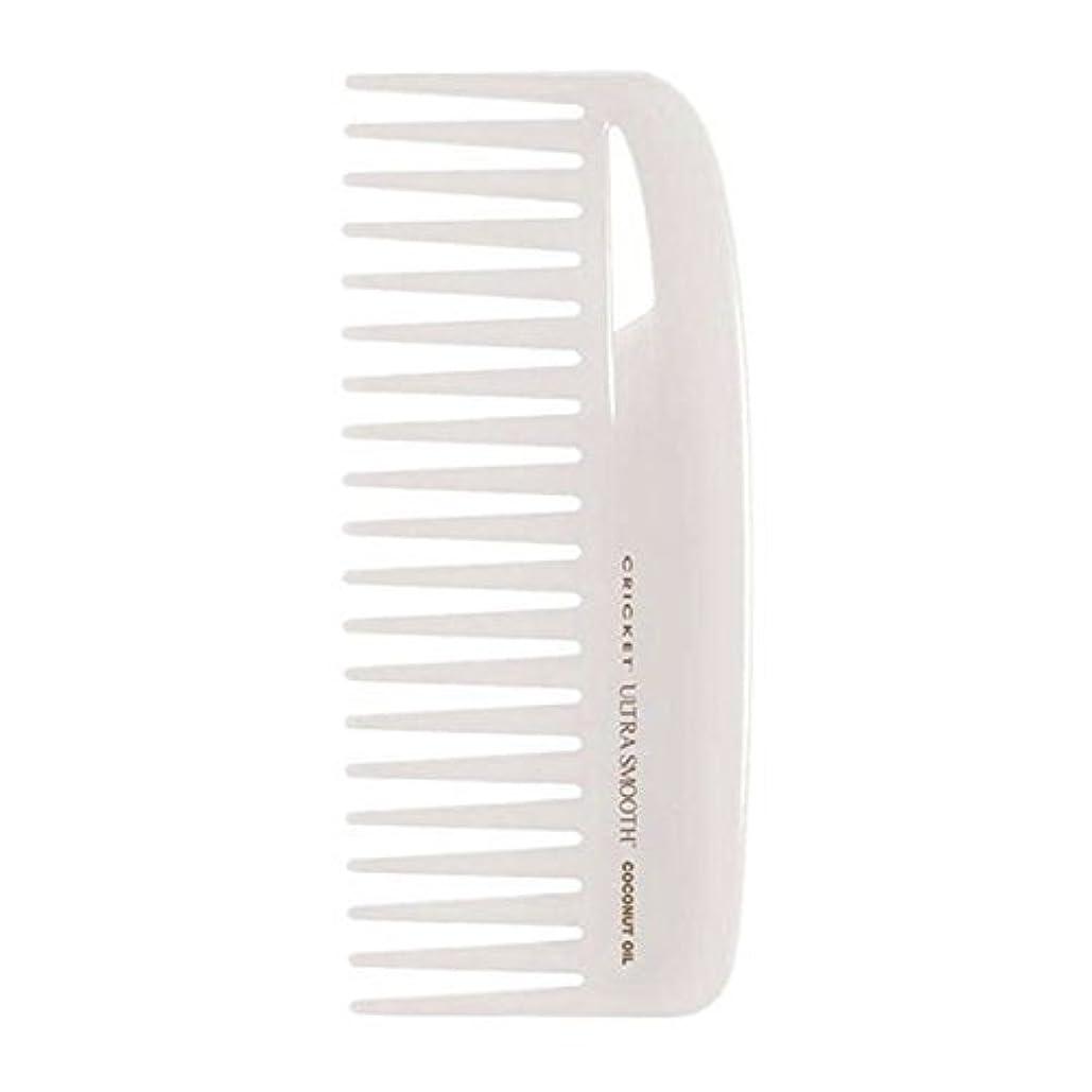 診療所時系列ディスクCricket Ultra Smooth Coconut Conditioning Comb, 1 Count [並行輸入品]