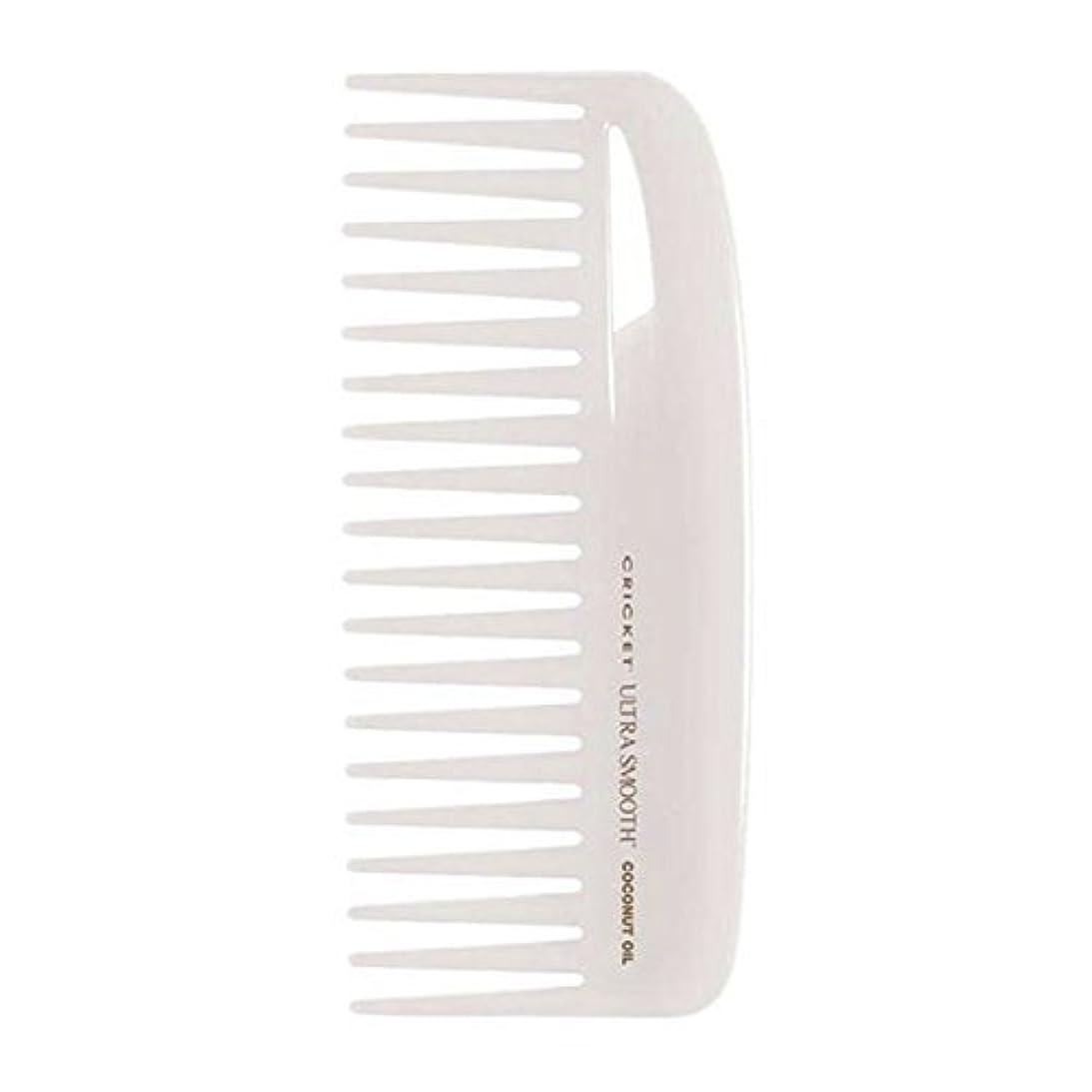 気味の悪い不安陰気Cricket Ultra Smooth Coconut Conditioning Comb, 1 Count [並行輸入品]