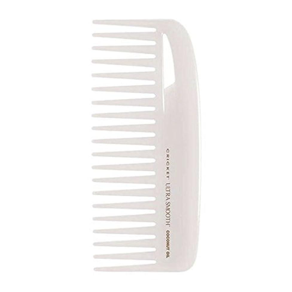 理解乱気流娘Cricket Ultra Smooth Coconut Conditioning Comb, 1 Count [並行輸入品]