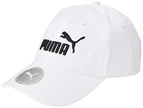 PUMA Kinder ESS Cap Jr Kappe, White-No,1, Youth