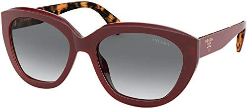 Prada PRADA HANDBAG LOGO PR 16XS RED GREY SHADED 56 18 140 women Sunglasses product image