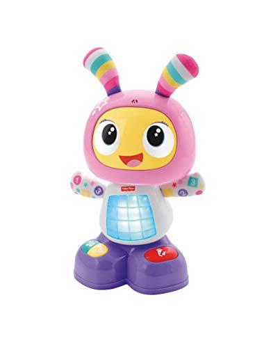Fisher-Price Mon Amie Beba le Robot Jouet Bébé d'Éveil avec 3 Modes de Jeu, Musique et Danse, Apprentissage, Enregistrement, 9 Mois et Plus, DYP07