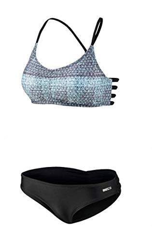 Beco Beermann GmbH & Co. KG Damen Bikini-Set, türkis/Schwarz, 38