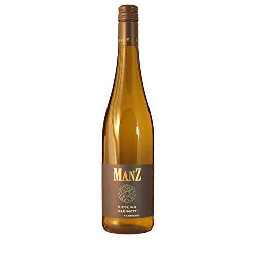 Manz Wein GbR 2019 Riesling Kabinett feinherb Rheinhessen Dt. Prädikatswein 0.75 Liter
