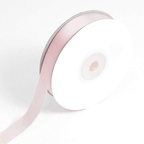 Bébé rose ruban en satin double face 16 mm Largeur : 25 m Bobine (Full) Crafts Papier cadeau 25