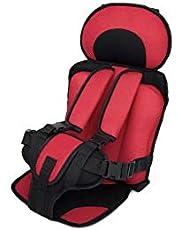 كرسي سيارة متنقل لعمر سنة إلى 5 سنوات - أحمر