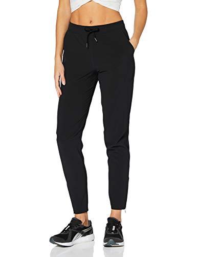 Amazon-Marke: AURIQUE Damen Sport Jogger, Schwarz (Black), 38, Label:M