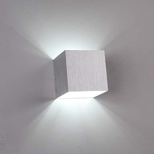 3W LED Applique Murale Applique Porche Brossé En Aluminium Brossé AC85-265V pour Salle De Bains Chambre Salon Couloir Décoration de La Maison, Pourpre