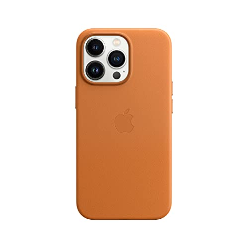Apple Leder Hülle mit MagSafe (für iPhone 13 Pro) - Klee