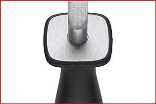WÜSTHOF Wetzstahl 23 cm (4460-7/23), schwarz, zum Schärfen von hochwertigen Küchenmessern