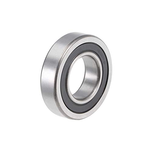 uxcell R16-2RS Deep Groove Ball Bearing 1-inchx2-inchx1/2-inch Double Sealed Chrome Steel Bearings
