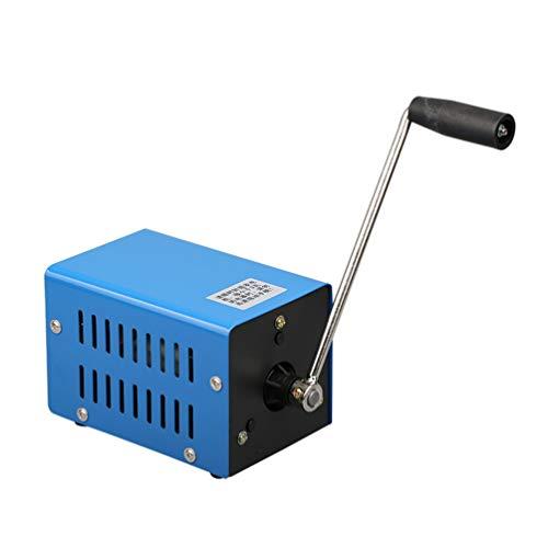BESPORTBLE Generatore Manuale Portatile di Emergenza Manovella Generatore Portatile Alimentatore Manuale per Campeggio Esterno