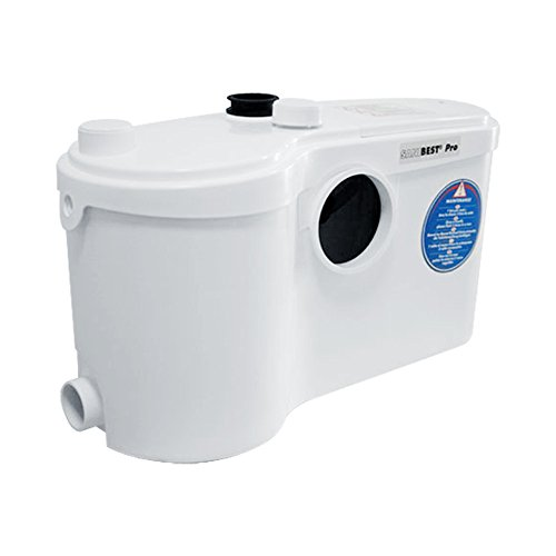Sfa sanitrit sanibest pro - Triturador wc+lavabo+ducha+lavadora sanibest pro