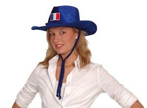 Chapeau De Supporter Bleu - Taille Unique