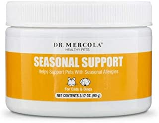 Dr Mercola Healthy Pets Seasonal Support For Cats and Dogs 3 17 oz 90 g