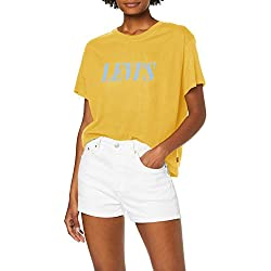 Camiseta amarilla oversize Levi's