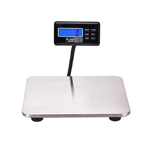 Báscula Digital para Mascotas de Alta Precisión 200kg Veterinaria 30X30CM Báscula Acero Inoxidable para Cerdo Post Transporte Rodamiento Fabrik