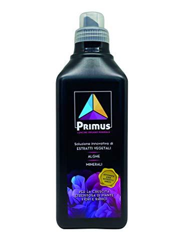 Primus - Concime Organo Minerale, Soluzione innovativa di estratti vegetali, alghe e minerali, per la Crescita strepitosa di Piante, Fiori e Radici. Attivato con estratti umici.1KG