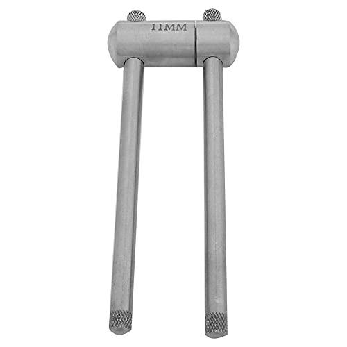 Alomejor Cue Tip Press Edelstahl Billard Pool Cue Tip Press Formwerkzeug für Snooker-Wartungszubehör(11mm)