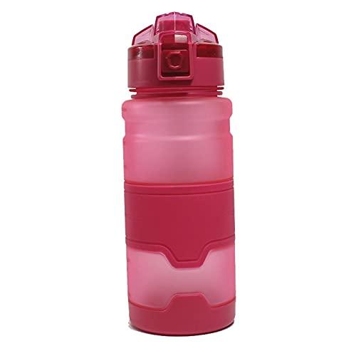 Jituan Copa de agua de gran capacidad deportes taza de agua rebote cubierta de espacio al aire libre taza portátil simple hogar 700ml plástico portátil taza de agua