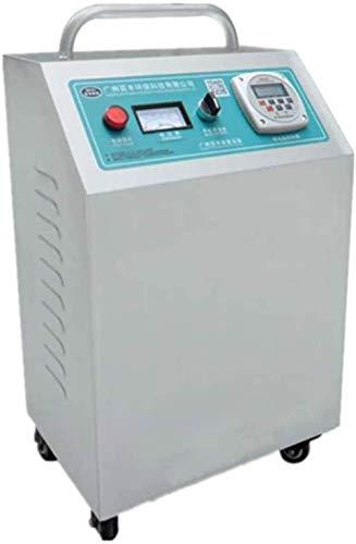 Generador de ozono industrial con 15000 mg/h, limpiador de aire O3 comercial, desodorante, esterilizador, dos tipos de temporizadores, color gris claro