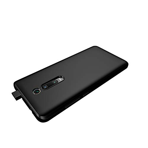 Capa Capinha Para Xiaomi Mi 9T e Redmi K20 e K20 Pro De Tela 6.39Polegadas Capinha Transparente Clear Ultra Fina Silicone - Danet (Preta (fumê))
