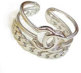 خاتم بلون ذهبي وفضي للنساء