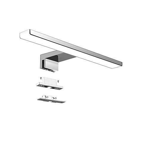 Aourow LED Spiegellampe Badezimmer Spiegelleuchte 5W 300mm 500lm IP44 Badleuchte Neutralweiß 4000k,Spiegellampen Spiegel Badezimmerschrank 230V,LED Badspiegelleuchten Badezimmerspiegel(kein Schalter)