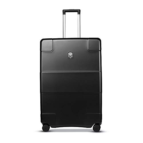 Victorinox Lexicon Hardside Expandable Spinner Luggage, Black, Checked-Large (28')