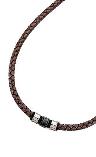 Collar Lotus LS2070/1/1 Urban Man, para Hombre de Piel marrón