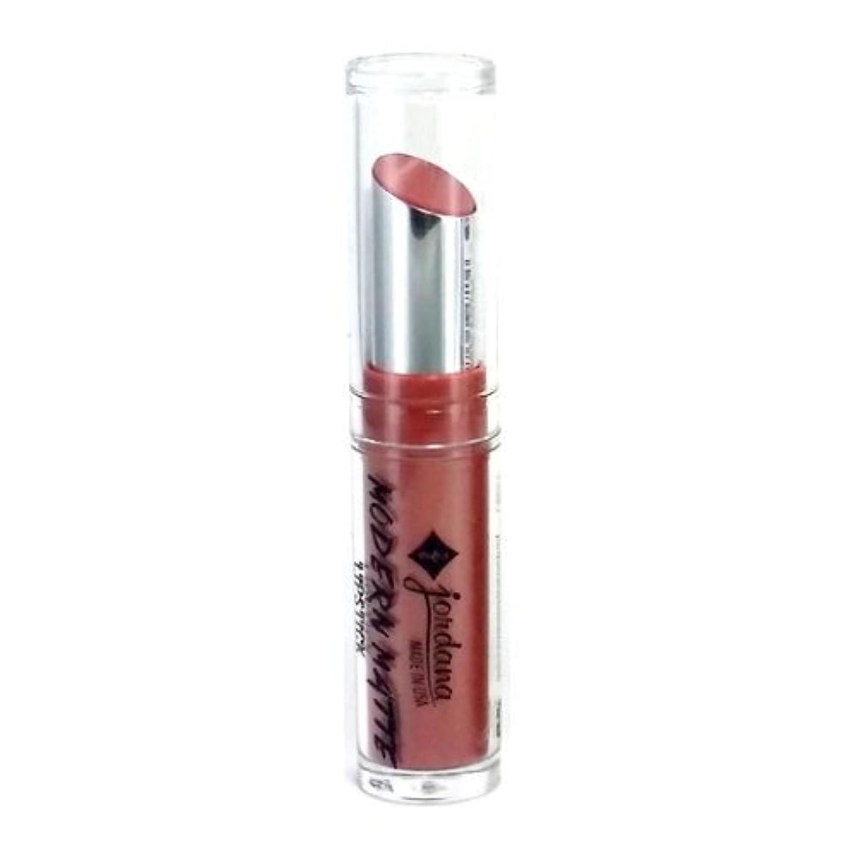 仕えるマイク咽頭JORDANA Modern Matte Lipstick Matte Bare (並行輸入品)