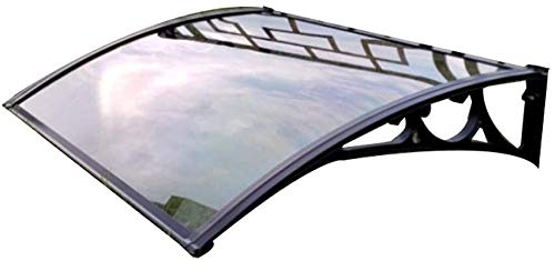 WSND FZWAI Cubierta Exterior de jardín al Aire Libre Patio de Sombra Techo Protege del Sol, Lluvia, Nieve Dosel Puerta Exterior Ventana de la Puerta del pabellón de la Puerta Principal del pabellón