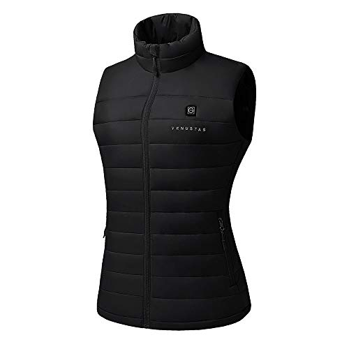 [2020 Upgrade] Women's Heated Vest with Battery Pack, YKK Zippers and Water&Wind Resistant