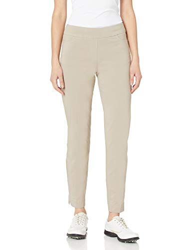 SLIM-SATION Womens Ankle Pant, Stone, 4