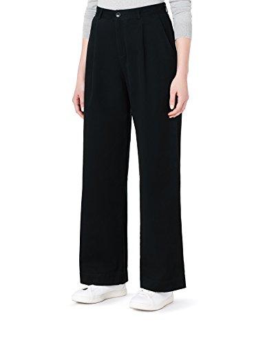 MERAKI Pantalones Mujer, Negro (Black Beauty : 19-3911 Tcx), 36, Label: XS
