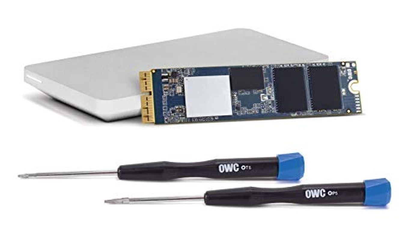 カウントアップ俳句OWC 1.0TB Aura Pro X2 Complete SSD Upgrade Solution with Tools & OWC Envoy Pro Enclosure for MacBook Air (Mid 2013-2017) and MacBook Pro (Retina, Late 2013 - Mid 2015), (OWCS3DAPT4MB10K) [並行輸入品]