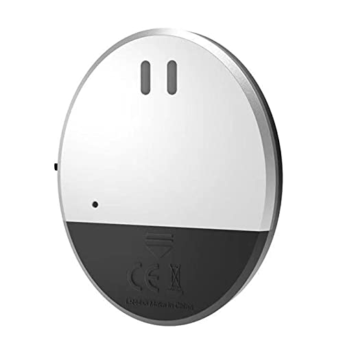 OocciShopp 100Db High Wireless Anti-Diebstahl-Alarm Vibrationssensor für Tür/Fenster Intelligenter Vibrationsalarm Home Security Alarm (Silber)