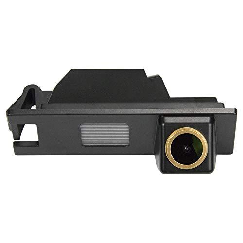HD D'oro Telecamera per retromarcia (1280x720p) Telecamere posteriori impermeabile Visone Notturna Retrocamera per Hyundai Tucson MK2 ix35 2010-2014