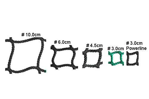 Konege Rundballenheunetz 1,4m x 1,4m x 1,6m, Mw 3,0cm, 4,0mm Kordelstärke, Heunetz - 3