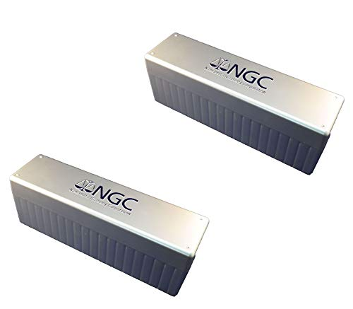 NGC Plastic Storage Box for 20 Slab Coin Holders Two Pack