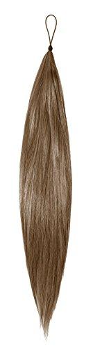 American Dream Hair Addition - Farbe HA8 mausbraun- 24 inch / 61 cm Länge - Thermofibre Haarteil, 1er Pack (1 x 238 g)